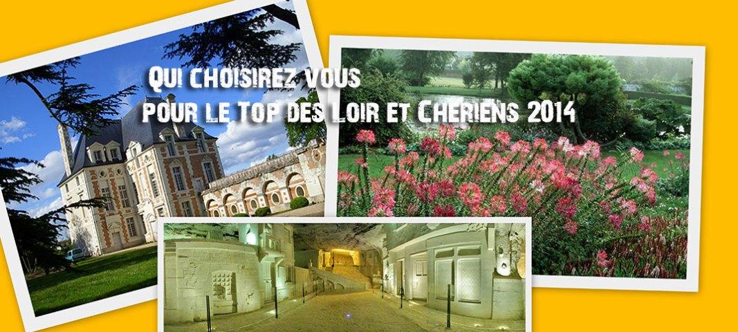 Top du tourisme Loir et Cher 2014, résultats le 8 septembre