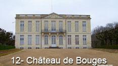 monument et châteaux de la Loire ouverts toute l'année Château de Bouges