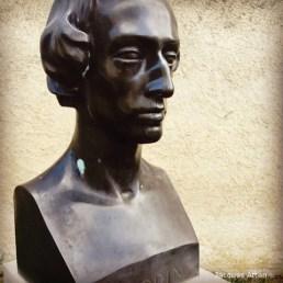 maison de George Sand Statue de Frédéric Chopin