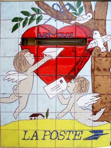Saint Valentin la Poste