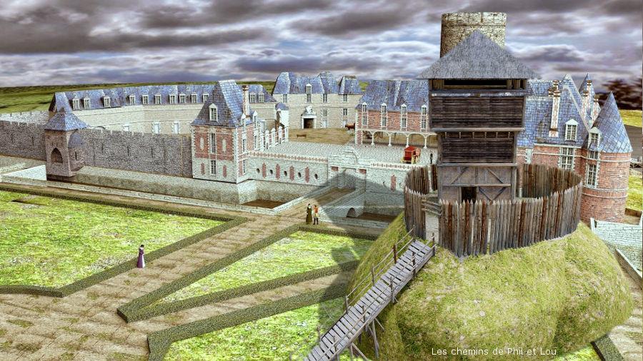 Les mottes castrales, comment sont-elles devenues des châteaux de la Loire