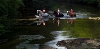 Balade équestre à l'Alméria Parc, parc de loisirs équestres familial et insolite en Sologne Crédit photo© Lyse Lévy