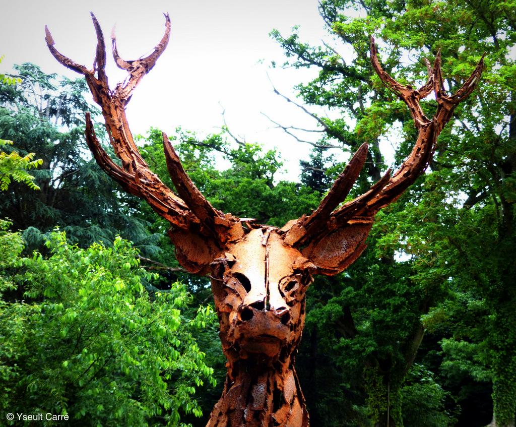 Animal   exposition de sculpture animalière monumentale contemporaine