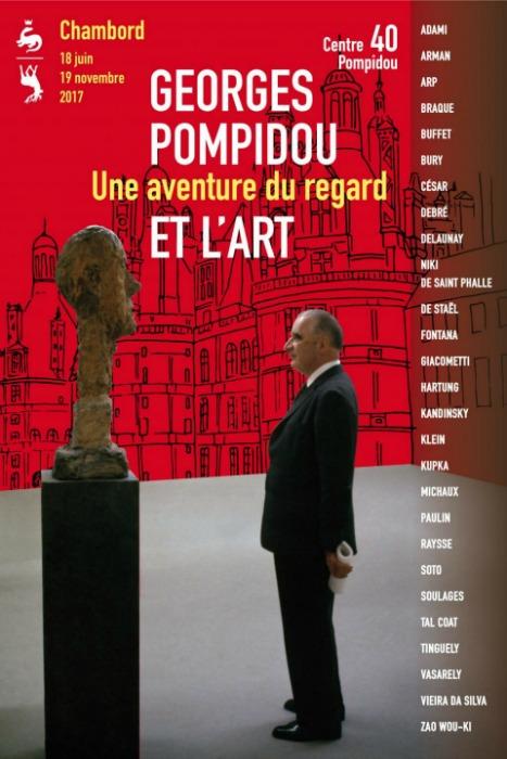 Georges Pompidou et l'art une aventure du regard, l'exposition la plus importante jamais réalisée à Chambord