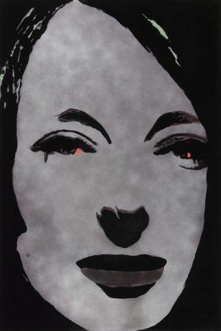 Martial RAYSSE (1936 – ) Tableau dans le style français II, 1966 Technique et flocage mixte sur toile 195 x 130 cm Collection Centre Pompidou, Paris Musée national d'art moderne/Centre de création industrielle Dation 2008. Ancienne collection Président et Madame Georges Pompidou Crédit photo : © Centre Pompidou, MNAM-CCI/Philippe Migeat/Dist.RMN-GP © Adagp, Paris, 2017
