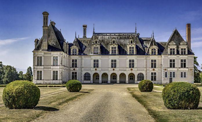 château de Beauregard en Val de Loire Loir et Cher Val de Loire