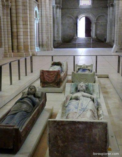 Richard Coeur de Lion Abbaye de Fontevraud