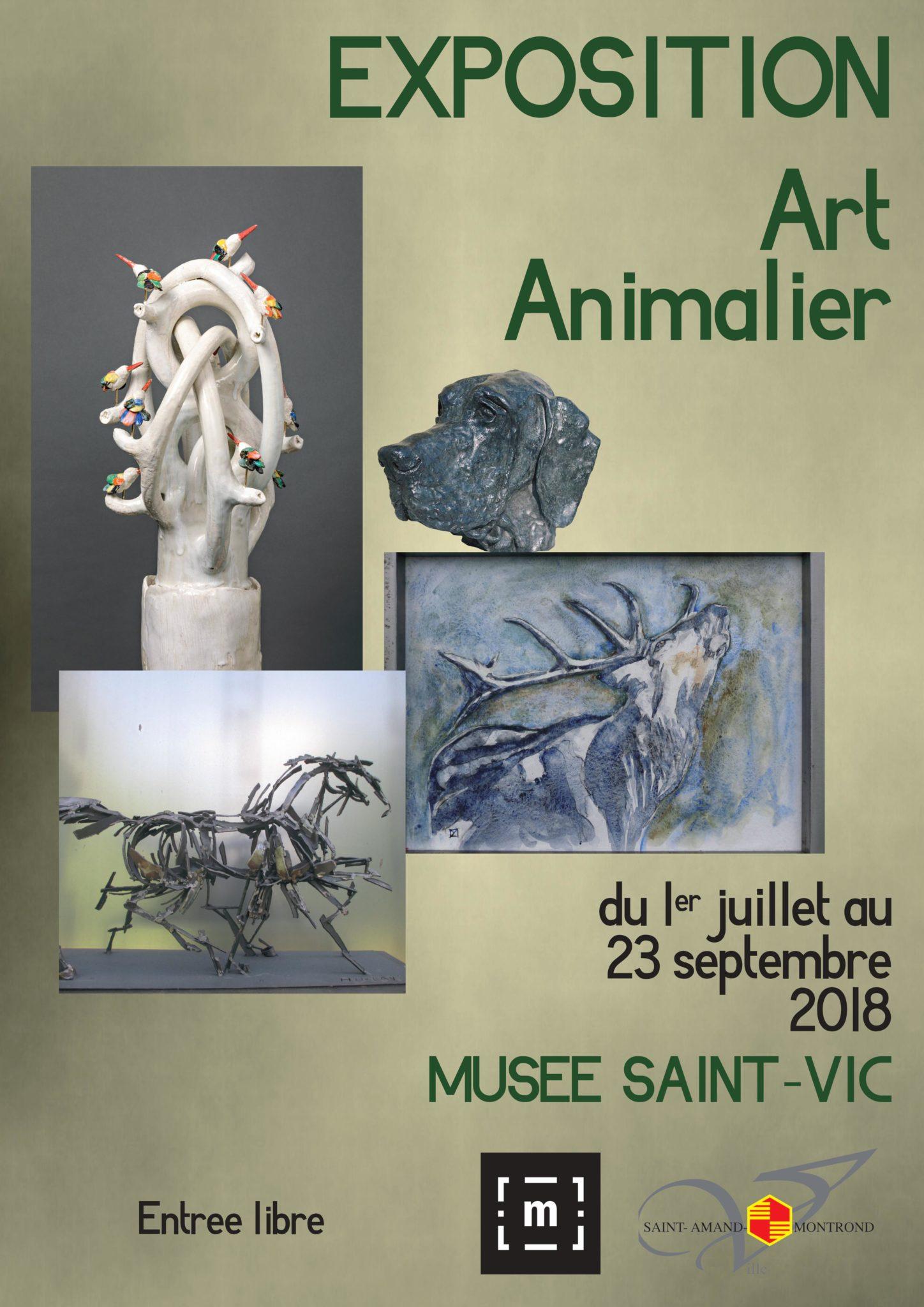 « Art animalier » en Berry - 4 artistes exposent tout l'été au Musée Saint-Vic