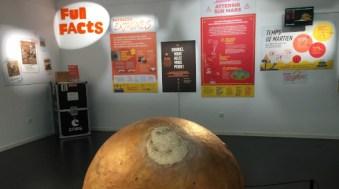 Exposition sur la planète Mars