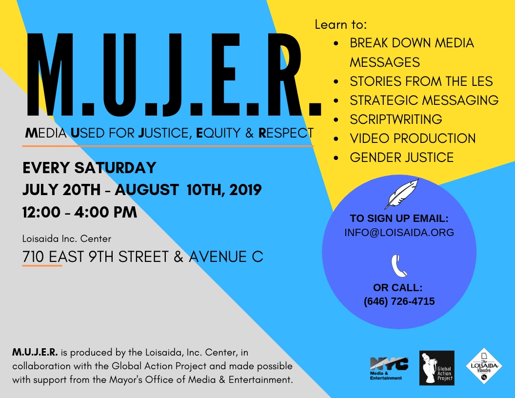Upcoming Events | MEDIA USED FOR EQUITY JUSTICE & RESPECT