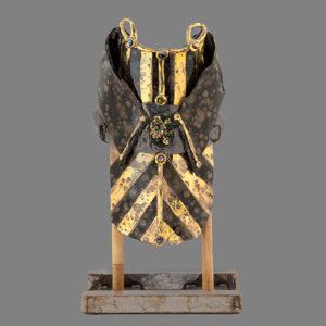 Image: Gold Kimono - Lois Sattler - Ceramic Piece