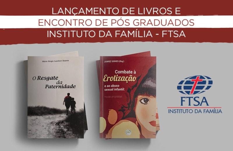 Graduados lançam livros no Instituto da Família