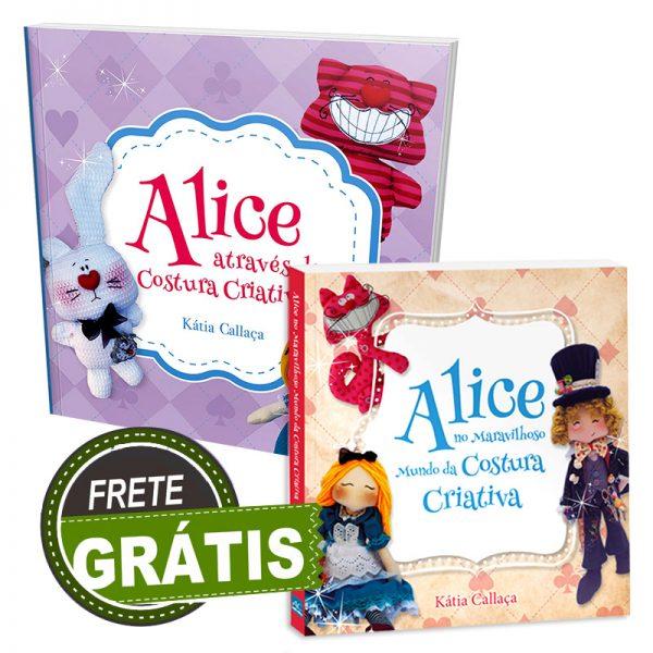 Livro Alice I + Livro Alice II
