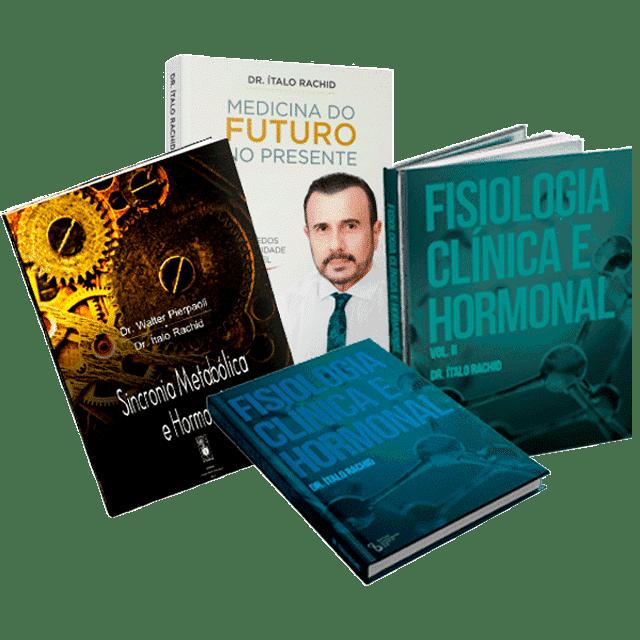 Fisiologia Clínica Hormonal 1 e 2 + Sincronia Metabólica Hormonal + Medicina do futuro no presente