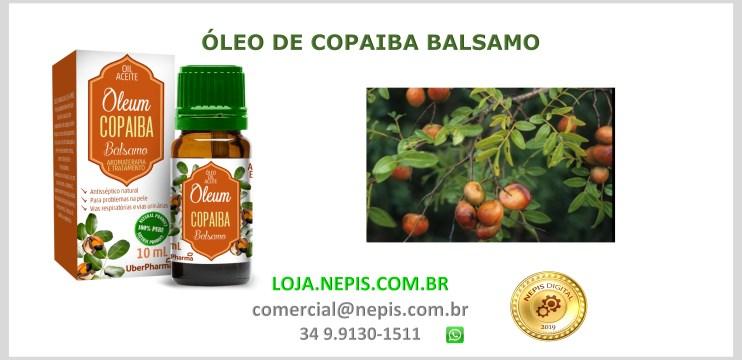 Óleo De Copaiba Balsamo