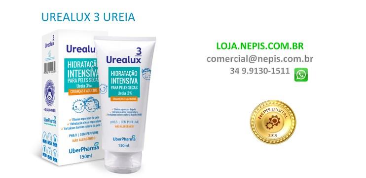 Urealux 3 Ureia 3% Loção 150 ML, Bisn. c/ cx