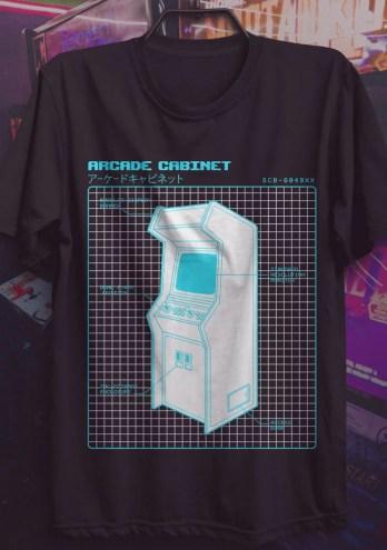 Camiseta Arcade – Fliperama
