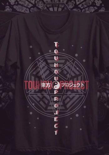 Camiseta Touhou Project – Minimalist