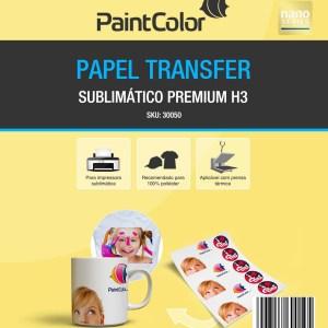 Papel Sublimático A4 Globinho Premium H3 - 100 Folhas