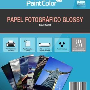 Papel Fotográfico Glossy A4 135g 100 Folhas