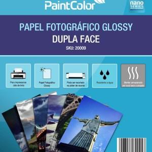 Papel Fotográfico Glossy Dupla Face A4 180g 100 Folhas