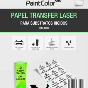 Papel Transfer Laser Para Substratos Rígidos 100g A4 - 20 Folhas