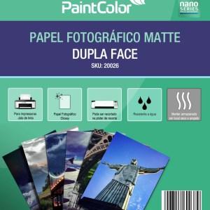Papel Fotográfico Matte Duplaface 180g A4 20 Folhas