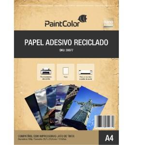 Papel Adesivo Reciclado Fotográfico 180g A4 - 10 Folhas
