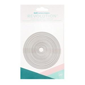 Faca de Corte Circular We R Revolution - Kit com 20 Peças