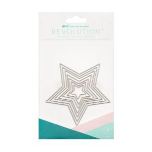 Faca de Corte Estrela We R Revolution - Kit com 7 Peças