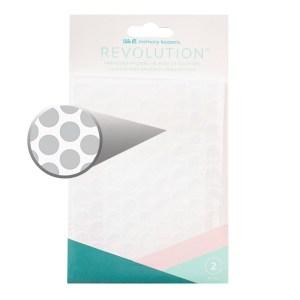 Placa de Emboss Poá  We R Revolution - Kit com 2 Peças