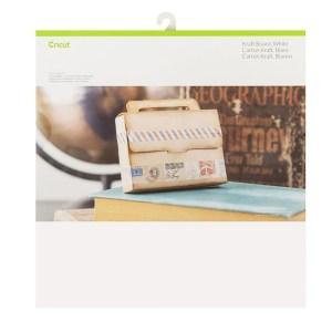 Papel Cartão Kraft Branco - Cricut Cardstock 30x30 cm - 20 folhas