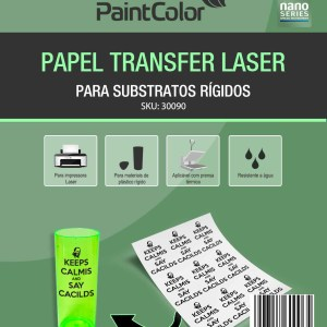 Papel Transfer Laser Para Substratos Rígidos 120g A4 - 100 Folhas