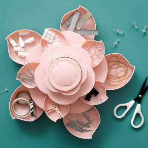 Organizador Mini Bloom Rosa We R