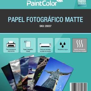 Papel Fotográfico Matte para Jato de Tinta 170g A4 - 100 Folhas