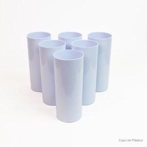 Copo Long Drink Sublimático Polímero Branco 330ml - 24 Un.