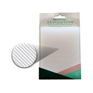Placa de Emboss Listras We R Revolution - Kit com 2 Peças