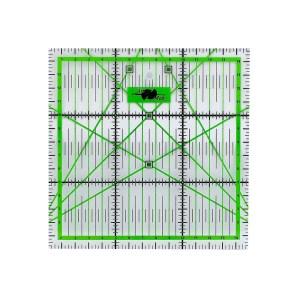 Régua de Acrílico com Marcação 15x15cm Artmak