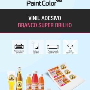 Vinil Adesivo para Impressão Branco 190g A4 - 10 Folhas