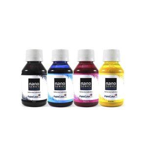 Tinta Sublimatica Nano Series 400mL - Kit com 4 Cores de 100mL