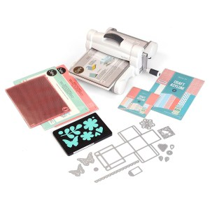 Máquina de Corte e Vinco Big Shot Plus + Kit Starter Sizzix