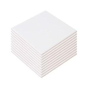 Azulejo Fosco para Sublimação 20x20 cm - 10 Un.