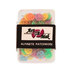 Conjunto de Alfinetes para Patchwork Botão -  80 Un.