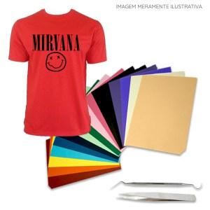 Plotter Recorte Silhouette Cameo 4 + Kit Vinil Termocolante Camisetas