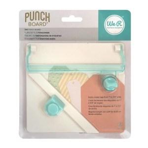 Tag Punch Board We R - Ferramenta de Tags