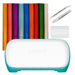 Kit Mini Plotter de Recorte Cricut Joy + Kit Vinil Holográfico + Bônus de Ferramentas