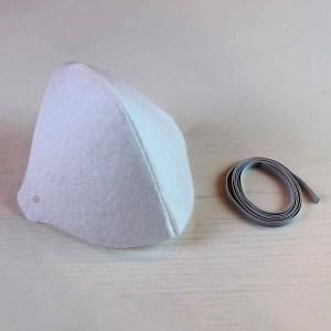 Máscara Protetora de Tecido Lavável e Reutilizável - 500 Unidades