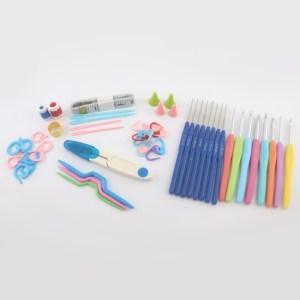 Kit Crochê 16 Agulhas Com Acessórios E Case - Art Mak