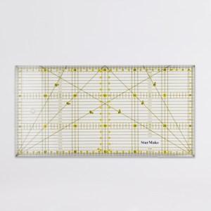 Régua 15x30cm Milimetrada Patchwork - Art Mak