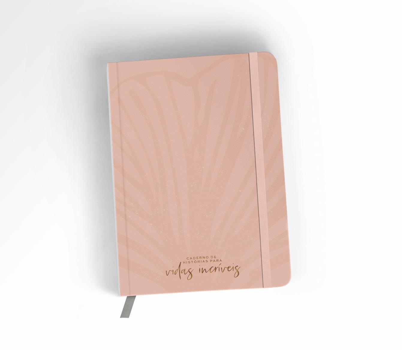 Caderno de Histórias para Vidas Incríveis - Rosé